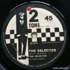 Discos de vinilo: THE SPECIAL A.K.A. / THE SELECTER – GANGSTERS / THE SELECTER UK,1979. Lote 264049740
