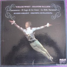 Disques de vinyle: BOX SET - TCHAIKOWSKY - GRANDES BALLETS (CONTIENE 3 LP'S Y ENCARTE, SPAIN, RCA 1975) VER FOTOS. Lote 264050285