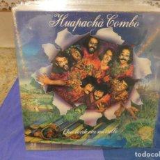 Discos de vinilo: LP 1982 GFOLD BUEN ESTADO GENERAL HUAPACHA COMBO QUE VERDE ERA MI VALLE. Lote 264051745