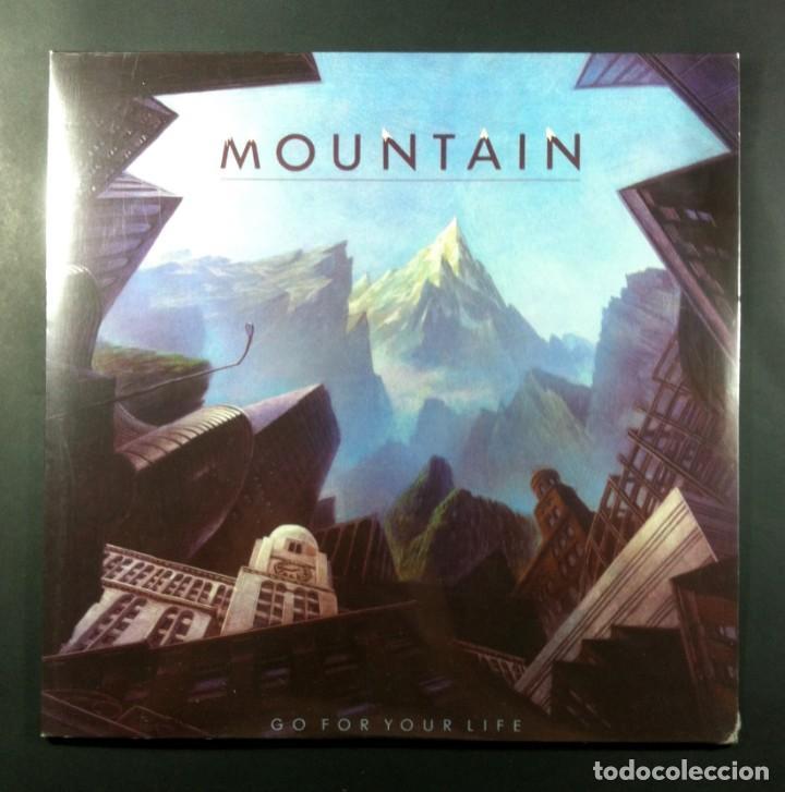 MOUNTAIN - GO FOR YOUR LIFE - LP REEDICION ALEMANA 2013 - YELLOW LABEL (NUEVO / PRECINTADO) (Música - Discos - LP Vinilo - Pop - Rock - Internacional de los 70)