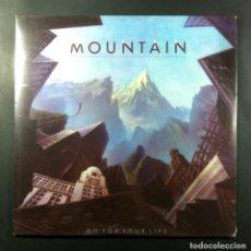Discos de vinilo: MOUNTAIN - GO FOR YOUR LIFE - LP REEDICION ALEMANA 2013 - YELLOW LABEL (NUEVO / PRECINTADO). Lote 264053810