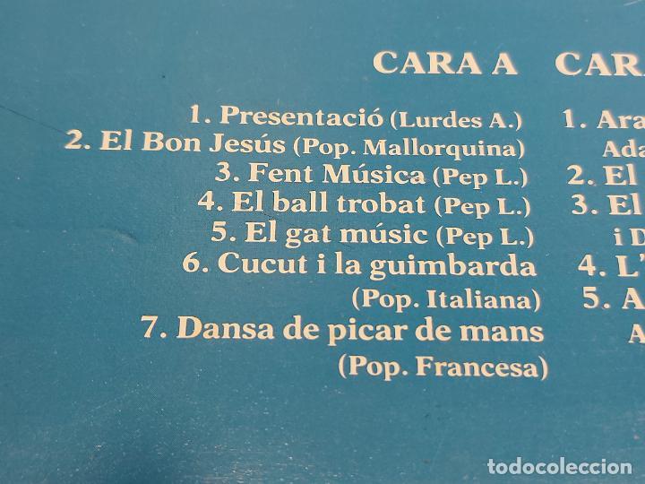 Discos de vinilo: EL SAC DE GEMECS / ARA PLOU / LP - PDI-1983 / MBC. ***/*** LETRAS - Foto 3 - 264061425