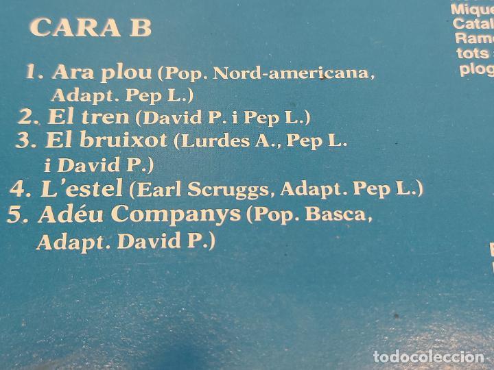 Discos de vinilo: EL SAC DE GEMECS / ARA PLOU / LP - PDI-1983 / MBC. ***/*** LETRAS - Foto 4 - 264061425
