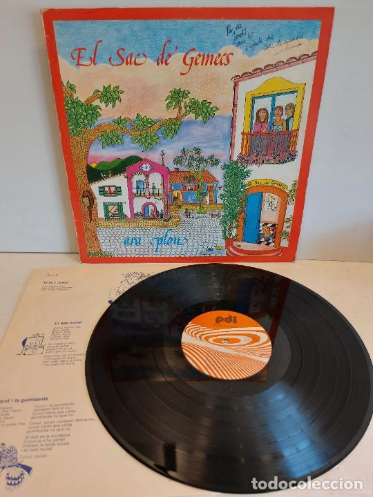 EL SAC DE GEMECS / ARA PLOU / LP - PDI-1983 / MBC. ***/*** LETRAS (Música - Discos - LPs Vinilo - Música Infantil)
