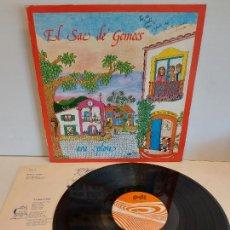 Discos de vinilo: EL SAC DE GEMECS / ARA PLOU / LP - PDI-1983 / MBC. ***/*** LETRAS. Lote 264061425