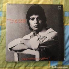 Discos de vinilo: EL CAMARON DE LA ISLA CON PACO DE LUCIA // SOY GRANDE POR SER GITANO // LP DOBLE // ESTA COMO NUEVO. Lote 264063720