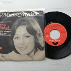 Discos de vinilo: MARIE MYRIAM – L'OISEAU ET L'ENFANT EUROVISION SINGLE 1977 VINILO EX. Lote 264064855
