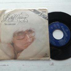 Discos de vinilo: BETTY MISSIEGO – SU CANCIÓN SINGLE EUROVISION 1979 BUEN ESTADO. Lote 264068845