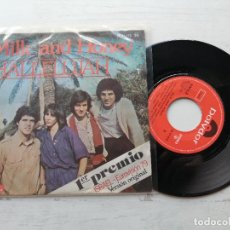 Discos de vinilo: MILK AND HONEY – HALLELUJAH SINGLE 1979 EUROVISION VINILO EX+/PORTADA VG++. Lote 264069825