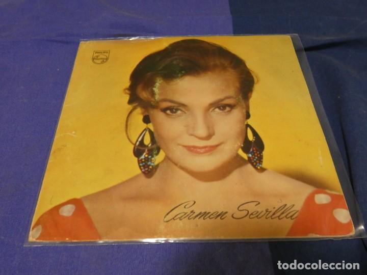 EP GATEFOLD CARMEN SEVILLA YE YE MUY BONITA PIEZA (Música - Discos - Singles Vinilo - Funk, Soul y Black Music)
