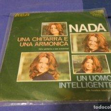 Discos de vinilo: LP CHICA SOUL NACIONAL: NADA, UNA GUITARRA Y UNA ARMONICA BUEN ESTADO. Lote 264076740