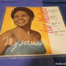 Discos de vinilo: EP ESPAÑOL THE PLATTERS MY SERENADE, MERCURY BUEN ESTADO. Lote 264077730