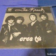 Discos de vinilo: SINGLE PRECIOSO POWER POP THE KNACK ERES TU ESPAÑA 1980. Lote 264077810