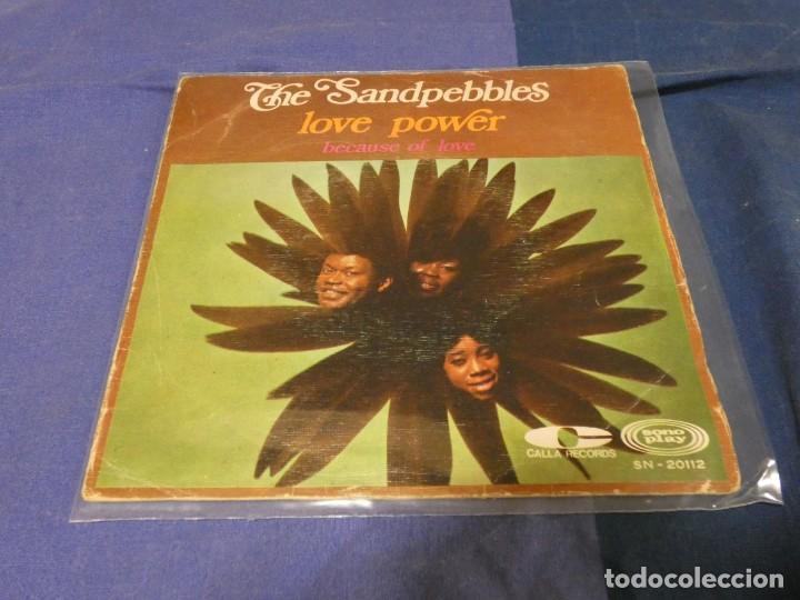 SINGLE THE SANDPEBBLES LOVE POWER ESTADO DECENTE 1968 (Música - Discos - Singles Vinilo - Funk, Soul y Black Music)