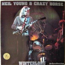 Discos de vinilo: NEIL YOUNG & CRAZY HORSE.WINTERLONG..SWINGUIN´PIG..DOBLE LP..NO OFICIAL..COMO NUEVO. Lote 264081575