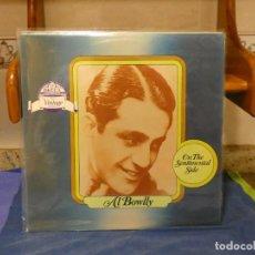 Discos de vinilo: DOBLE LP EN DECCA VINTAGE SERIES AL BOWLLY ON THE SENTIMENTAL SIDES MUY BUEN ESTADO. Lote 264085010