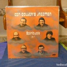 Discos de vinilo: LP KEN COYLER JAZZMEN SPIRITUALS VOL 1 UK CIRCA 1980 MUY BUEN ESTADO GENERAL. Lote 264086265