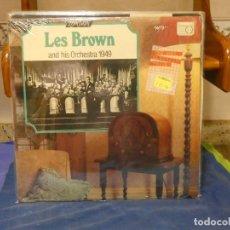 Discos de vinilo: LP UK AÑOS 80 LES BROWN AND HIS ORCHESTRA 1949 MUY BUEN ESTADO GENERAL. Lote 264086465