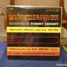 Discos de vinilo: LP ITALIA CIRCA 1967 RICORDO DI TOMMY DORSEY 1935-1945 MUY BUEN ESTADO. Lote 264086760