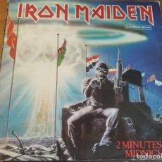 Discos de vinilo: IRON MAIDEN - 2 MINUTES TO MIDNIGHT *** RARO MAXI ESPAÑOL 1984 GRAN ESTADO. Lote 264100575