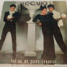 Disques de vinyle: SINGLE MECANO - HOY NO ME PUEDO LEVANTAR - QUIERO VIVIR EN LA CIUDAD - CBS A1192 - PEDIDO MINIMO 7€. Lote 264102335
