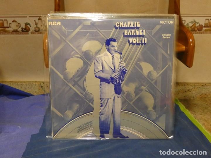 LP JAZZ CHARLIE BARNETT VOL II MUY BUEN ESTADO (Música - Discos - Singles Vinilo - Funk, Soul y Black Music)