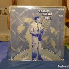 Discos de vinilo: LP JAZZ CHARLIE BARNETT VOL II MUY BUEN ESTADO. Lote 264111085