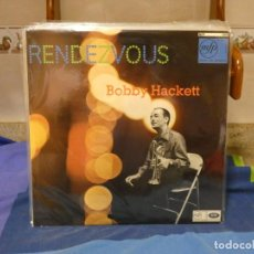 Discos de vinilo: LP JAZZ UK 60S BOBBY HACKETT RENDEZ VOUS MUY BUEN ESTADO GENERAL. Lote 264120475