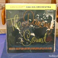 Discos de vinilo: LP UK 60S TERRIBLEMENTE ANTIGUO LES ELGART AND HIS ORCHESTRA MUY BUEN ESTADO. Lote 264123210