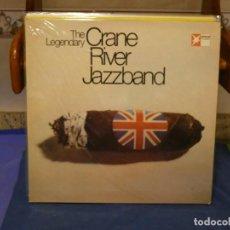 Discos de vinilo: LP ALEMANIA CIRCA 70S LEGENDARY CRANE RIVER JAZZBAND MUY BUEN ESTADO. Lote 264123250