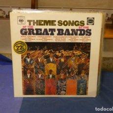 Discos de vinilo: LP UK CBS 1972 THEME SONGS FROM GREAT BANDS MUY BUEN ESTADO. Lote 264126790