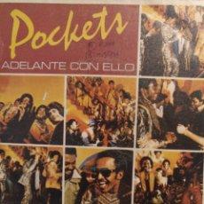 Discos de vinilo: POCKET'S.** TAKE IT ON UP * SPHINX **. Lote 264156288