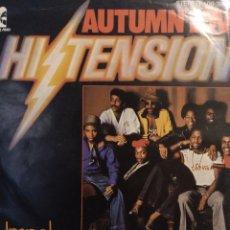Discos de vinilo: HI TENSION & BRITISH HUSTLE.** AUTUMN LOVE * UNSPOKEN **. Lote 264158564