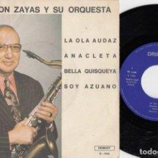 Discos de vinilo: NAPOLEON ZAYAS - LA OLA AUDAZ - EP DE VINILO EDICION ESPAÑOLA. Lote 264169916
