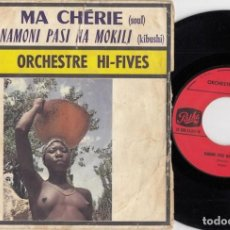 Discos de vinilo: ORCHESTRE HI - FIVES - MA CHERIE - SINGLE DE VINILO EDICION FRANCESA - AFRO SOUL. Lote 264172400