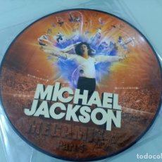 Discos de vinilo: MICHAEL JACKSON - IMMORTAL ..LP - PICTURE DISC . MUY DIFICIL DE CONSEGUIR DE COLECCION - 2011. Lote 264172604
