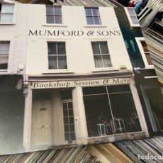 Discos de vinilo: MUMFORD AND SONS BOOKSHOP SESSION AND MORE LP DISCO DE VINILO. Lote 264176440