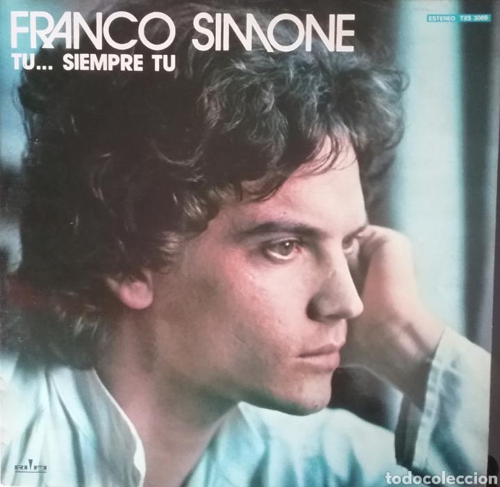 FRANCO SIMONE. LP. SELLO RIFI. EDITADO EN ESPAÑA. AÑO 1977 (Música - Discos - LP Vinilo - Canción Francesa e Italiana)