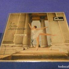 Discos de vinilo: DISCO 7 PULGADAS EP ESPAÑOL LA BELLA DURMIENTE 1961 MUY BUEN ESTADO VINILO. Lote 264185984