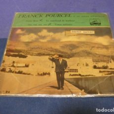 Discos de vinilo: DISCO 7 PULGADAS EP ESPAÑOL FRANK POURCEL CONTRAPORTADA MUY MUY ESCRITA. Lote 264187008