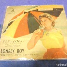 Discos de vinilo: DISCO 7 PULGADAS EP ESPAÑOL JORGE FOSTER CON VALENTIN TRUMILLO 1960 PEQUEÑOS ESCRITOS DETRAS. Lote 264187508