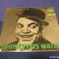 Discos de vinilo: DISCO 7 PULGADAS EP FRANCES FATS WELLER VINILO BUEN ESTADO VALENTINE STOMP+3. Lote 264188208
