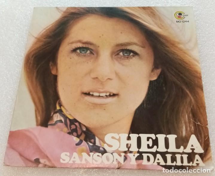 SINGLE PROMOCIONAL SHEILA - SANSON Y DALILA - TRINIDAD - CANNABY MO1244 - PEDIDO MINIMO 7€ (Música - Discos - Singles Vinilo - Canción Francesa e Italiana)