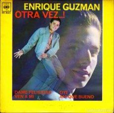 Discos de vinilo: EP ENRIQUE GUZMAN OTRA VEZ + 3 DISCOS CBS. Lote 264203472