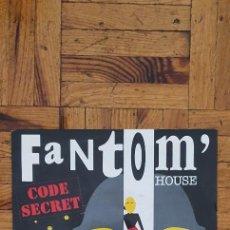 """Discos de vinilo: CODE SECRET – FANTOM' HOUSE LABEL: CBS – 655068 7, CBS – CBS 655068 7 FORMAT: VINYL, 7"""", 45 RPM,. Lote 264203600"""