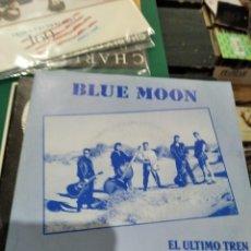 Discos de vinilo: SINGLE MUY BUEN ESTADO BLUW MOON EL ULTIMO TREN. Lote 264238152