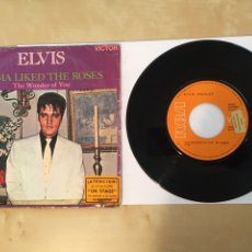 """Discos de vinilo: ELVIS PRESLEY - MAMA LIKED THE ROSES / THE WONDER OF YOU - PROMO SINGLE 7"""" - 1970 SPAIN - RCA. Lote 264246996"""
