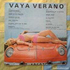 Disques de vinyle: VAYA VERANO - RARO LP PALOBAL DEL AÑO 1967, CON RENAULT ALPINE EN PORTADA, SEXY COVER. Lote 264252788