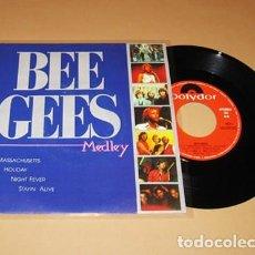 Discos de vinilo: BEE GEES - MEDLEY - SINGLE PROMO - 1991 - LIMITED EDITION NUEVO. Lote 264278552