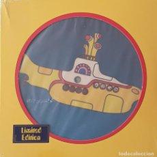 Discos de vinilo: BEATLES YELLOW SUBMARINE SINGLE. Lote 264293648